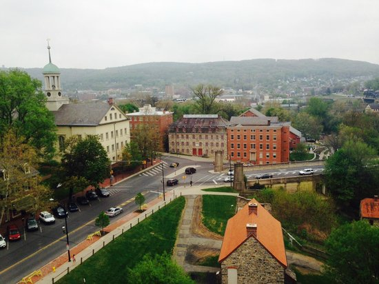 Historic Hotel Bethlehem: View from Bridal Suite
