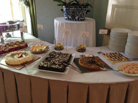 The Carolina Inn: The dessert table