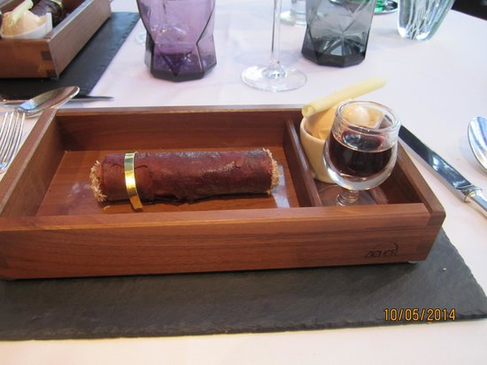 Hotel L'Ile de la Lagune : oui oui cela se mange et c'est délicieux