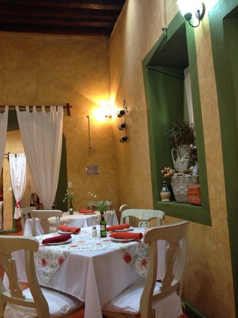 Vivoli Cafe and Trattoria: Muy pintoresco