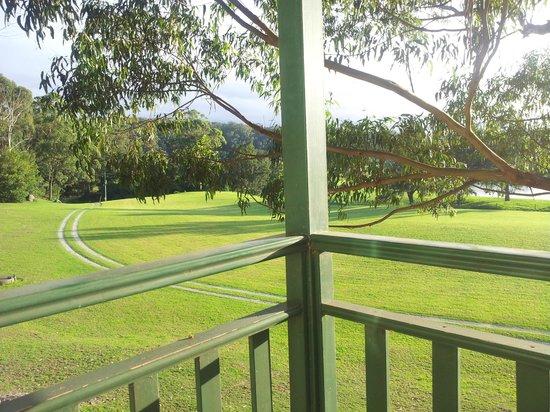 Shoalhaven Lodge: Blick vom Balkon