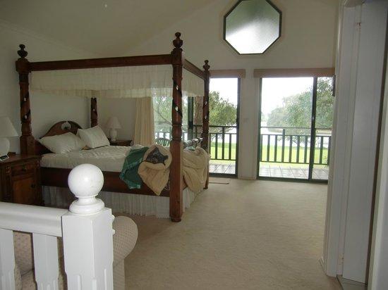 Shoalhaven Lodge: Schlafraum im Obergeschoss