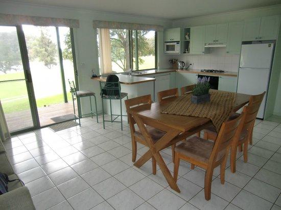 Shoalhaven Lodge: Die Küche