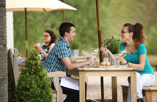 Kilcamb Lodge Hotel & Restaurant : Al Fresco dining