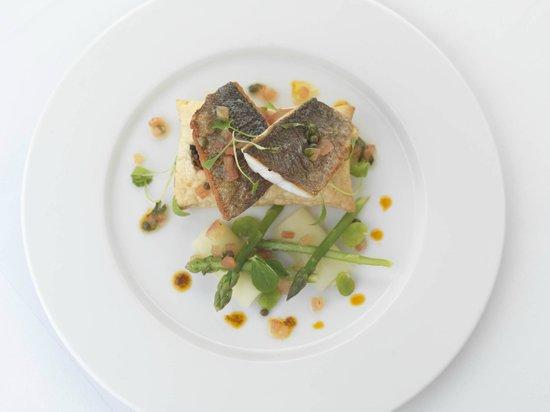 Kilcamb Lodge Hotel & Restaurant : Sea Bass