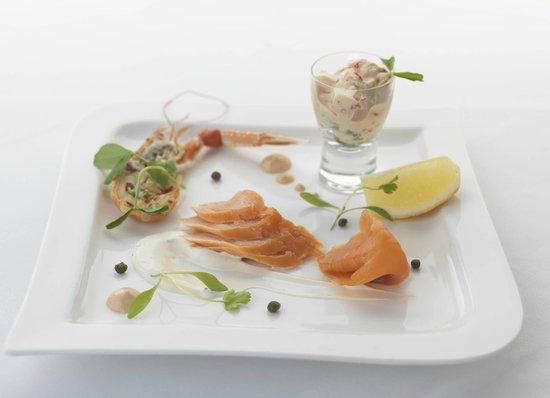 Kilcamb Lodge Hotel & Restaurant : Cold seafood Platter