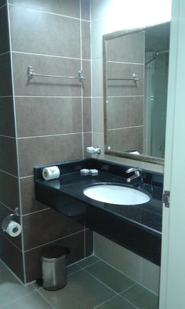 Grand Pasa Hotel: Bathroom