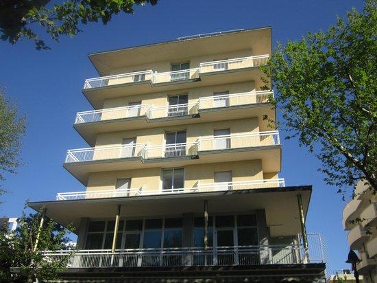 facciata hotel Concordia