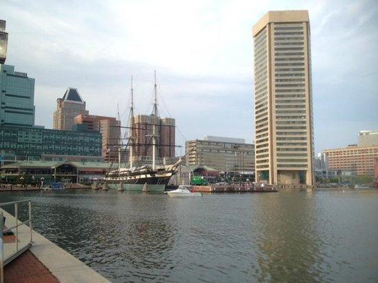 Renaissance Baltimore Harborplace Hotel: baltimore inner bay harbor