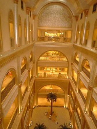 Emirates Palace: The Access area to Rooms