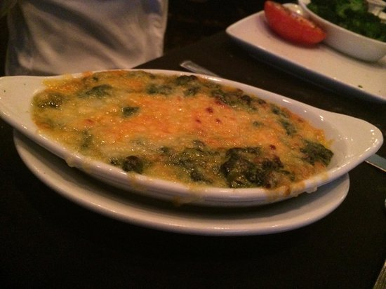 Ruth's Chris Steak House: Cheesy creamed spinach-