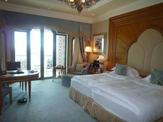 Emirates Palace: View of Room from Entrace to the Room