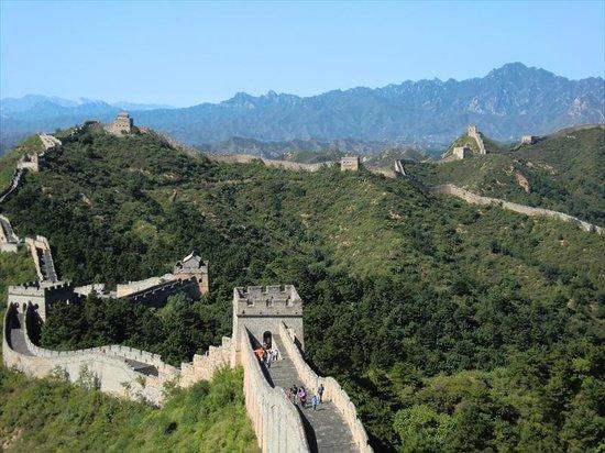 Jinshanling Great Wall: 延々と続く金山嶺長城