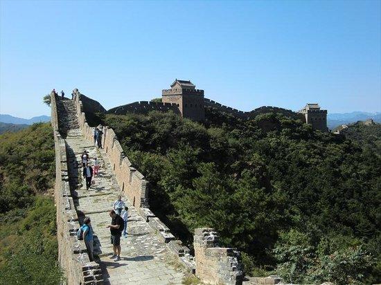 Jinshanling Great Wall: 観光客が少なく快適な金山嶺長城