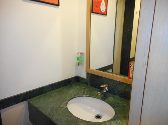Red Fox Hotel, Delhi Airport: the loo