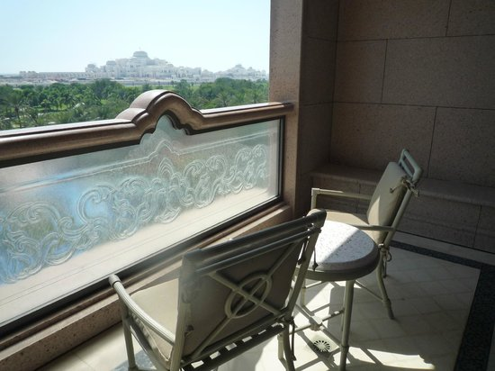 Emirates Palace: The Open sit-out Attached Balcony ( Verrandah)