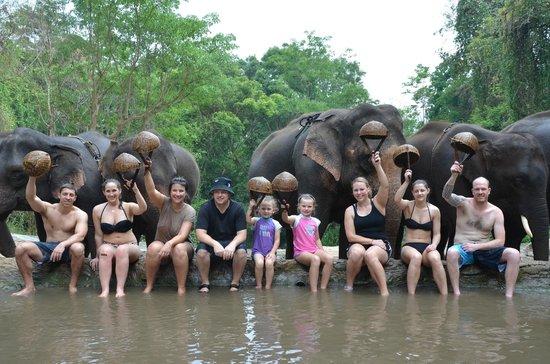 Patara Elephant Farm - Private Tours : Group shot
