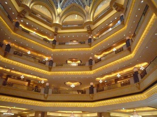 Emirates Palace: The Central Attrium