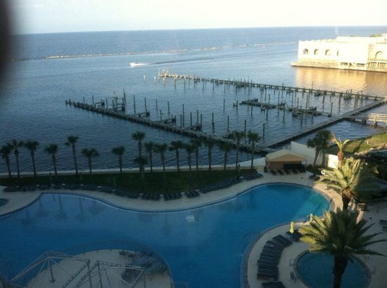 Hard Rock Hotel & Casino Biloxi : view from poolside room