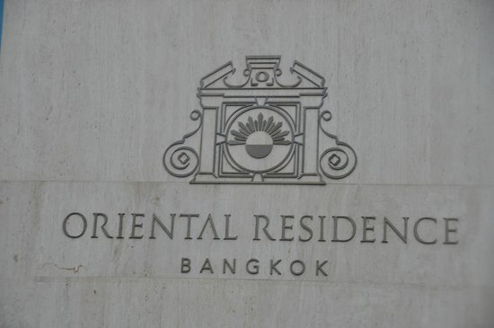 Oriental Residence Bangkok: hotel...