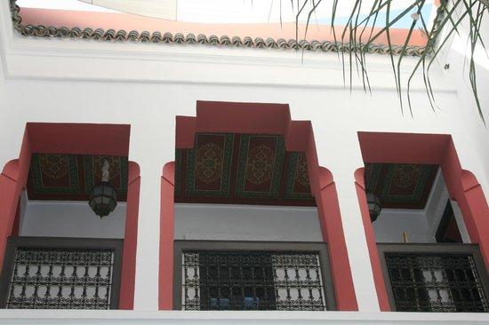 Riad Swaka: Le patio ouvert