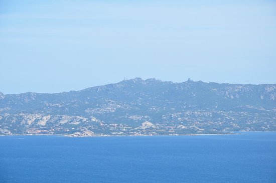 Capo d'Orso: Alternate view, also from the top