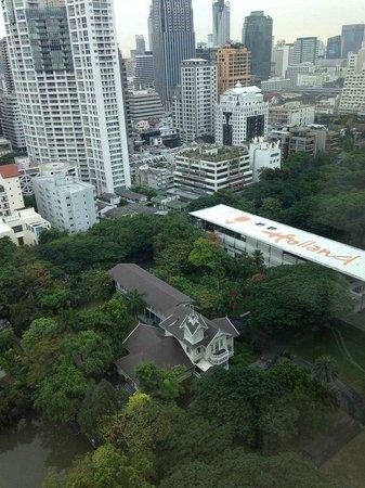 Oriental Residence Bangkok: Vista desde la habitacion