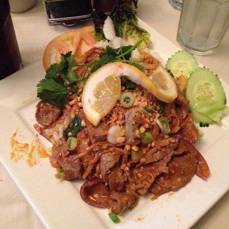 Bui Vietnamese Cuisine: Rice Noodle Stir Fry
