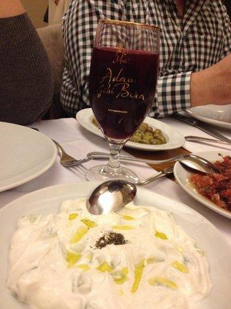 Adana Il Siniri Ocakbasi: Salgam ve yourtlu salata