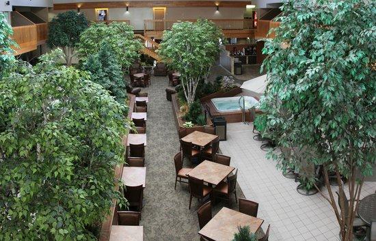 C'mon Inn - Fargo: Interior Courtyard