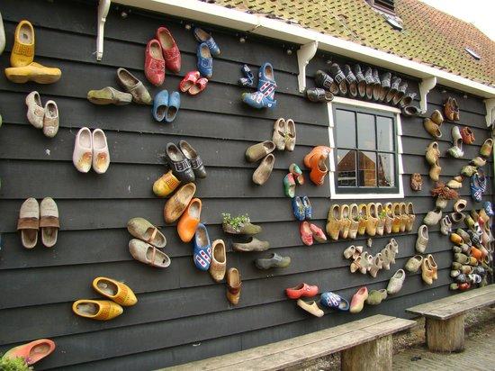 Zaanse Schans : laboratorio zoccoli