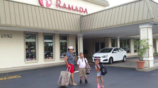 Ramada Hialeah/Miami Airport: My beautiful family. At our favorite hotel.