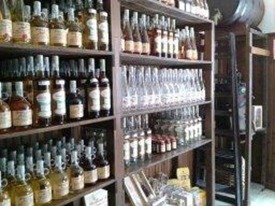 Distilleria Gualco : la boutique