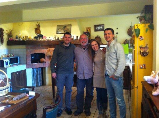 Degusta La Cinta Senese: At the kitchen