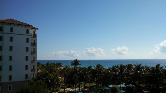Marriott's Ocean Pointe: view from the balcony