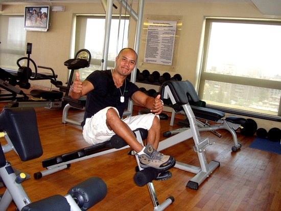 Radisson Blu Hotel, Cairo Heliopolis: Good Gym to keep me healthy