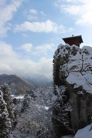 Risshaku-ji Temple: 山寺