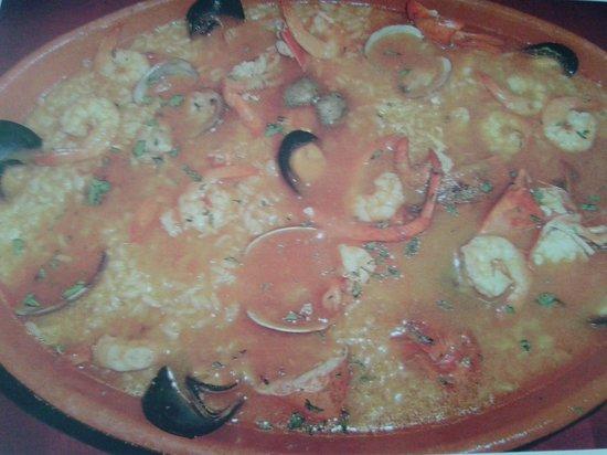 Casa do Bacalhau: arroz caldoso con marisco y bogavante