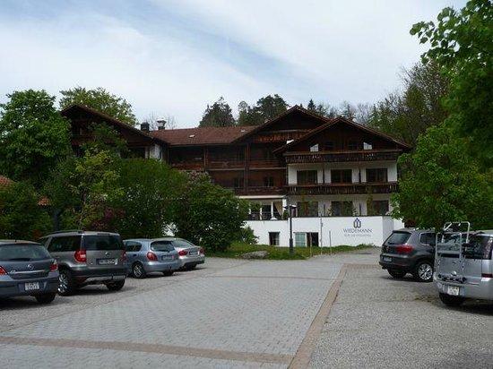 Kur-und Vitalhotel Wiedemann: Front of the Hotel