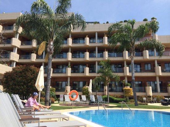 Occidental Estepona Thalasso Spa: Pool area