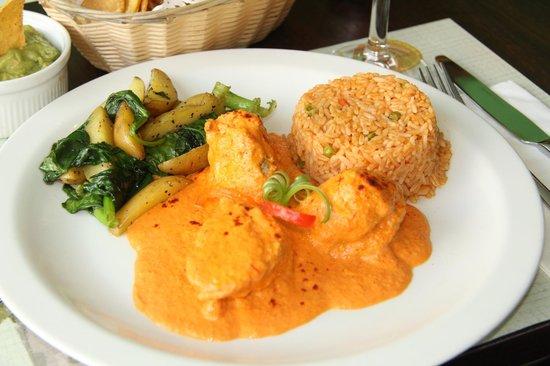 Guacamole: Pechuga Pimenton