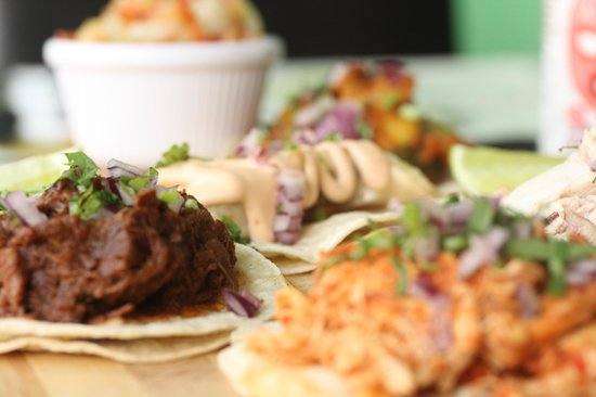 Guacamole: Taco sharing plate
