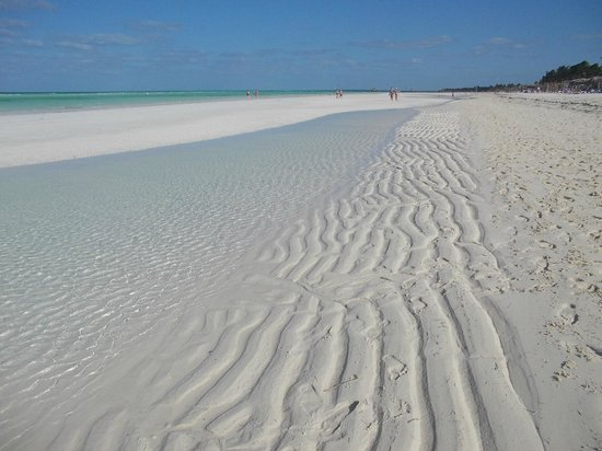 Sol Cayo Guillermo: The sand never got hot under our feet.