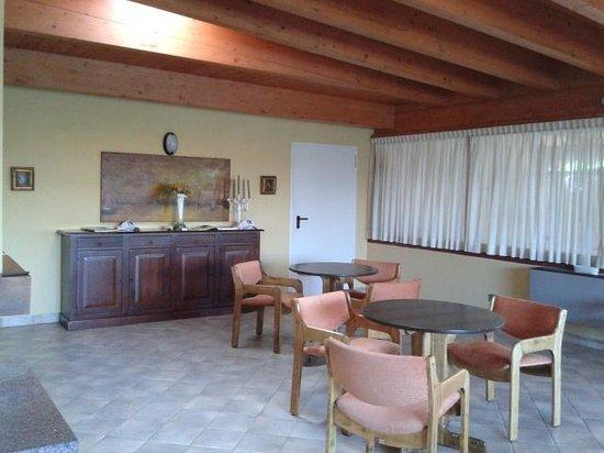 Hotel Ristorante Panoramica : Sala TV