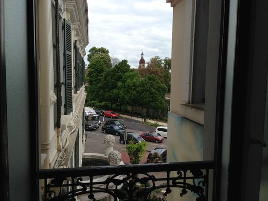 Hôtel de la Poste  : View from the room