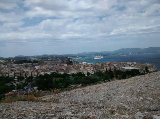 Old Fortress Corfu: The top of the world