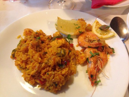The Sunset Grill restaurant: Nice tasting paella