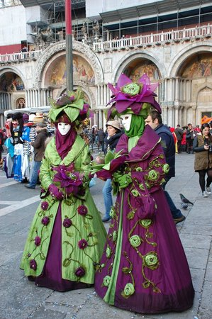 Piazza San Marco (Place St Marc) : carnevale