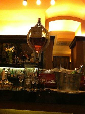 Rezkakas Bistro : Palinka (traditional Hungarian brandy)  decanter