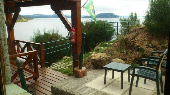 Charming Luxury Lodge & Private Spa: Vista do Apartamento
